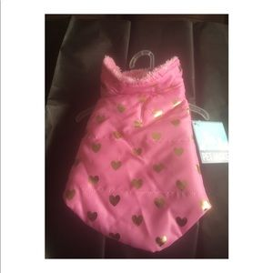 NWT Pink Pet Jacket Sz XS